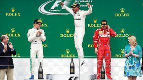 """Danner zum Silverstone-GP: """"Mercedes fährt in eigener Klasse, da kommt kein Ferrari mit"""""""