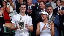 Der Sport-Tag: Hingis und Murray gewinnen Wimbledon-Mixed-Titel