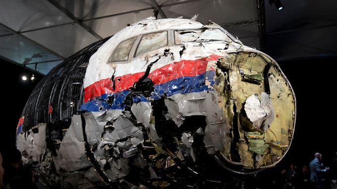 Die Überreste von MH17