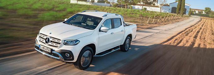 Mit der X-Klasse steigt Mercedes in ein Segment ein, dass bislang die Domäne von anderen Herstellern war.