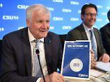 Trotz Merkel-Veto: CSU pocht weiter auf Flüchtlings-Obergrenze