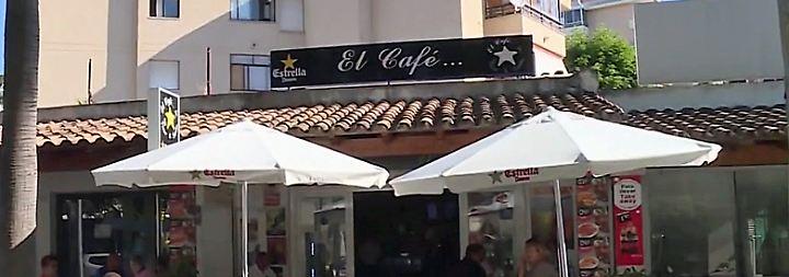 Mehrere Touristen verletzt: Mann schießt in Café auf Mallorca um sich