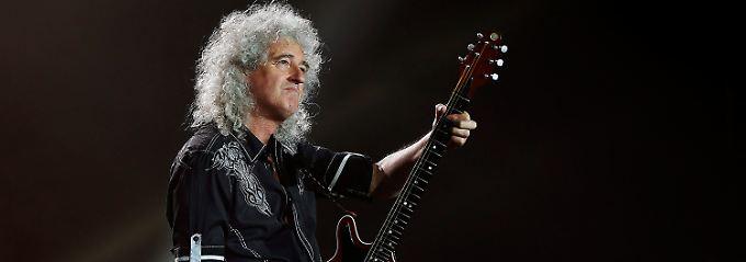 Dem Queen-Gitarristen zum 70.: Brian May hat Grund zu feiern