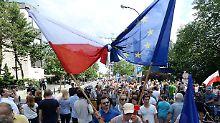 """""""Nicht für Diktatur zahlen"""": EU-Kommission droht Polen mit Geldentzug"""