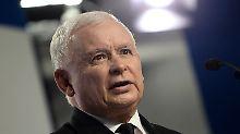 Debatte über Polens Justizreform: Kaczynski beschimpft Opposition als Verräter