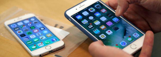 Schwere Vorwürfe gegen den iPhone-Hersteller Apple.