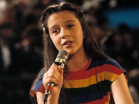 Als Kind stand Andrea Jürgens bereits auf Fernsehbühnen.