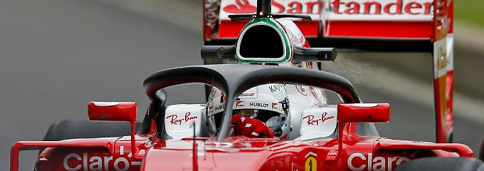 Fia setzt Cockpitschutz durch: Formel-1-Fahrer bekommen Heiligenschein