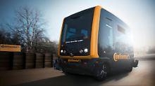 Autonomes Fahren in Städten: Continental erprobt Roboter-Taxi CUbE