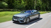 Auch in den kommenden Jahren soll die Mercedes S-Klasse an der Segmentspitze fahren.