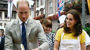 Royals unterwegs in Heidelberg: William und Kate gönnen sich ein wenig deutsche Provinz