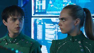 """""""Valerian""""-Stars: Cara & Dane: """"Legen Sie sich nicht mit ihm an!"""""""