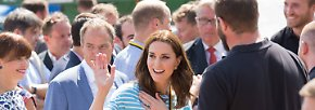 Kate und William in Heidelberg: Brezelbacken und Ruderbootrennen