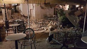 Tote auf Urlaubsinsel: Beben und Mini-Tsunami erschüttern Türkei und Griechenland