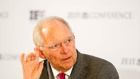 Warnung vor Reisen und Investitionen: Schäuble vergleicht Türkei mit DDR