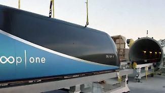 Revolution des Reisens: Musk erhält Zusage für Bau seiner Hyperloop-Bahn