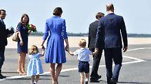 Nachwuchs am britischen Hof: Kate und William erwarten drittes Kind