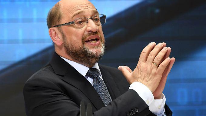 """""""Wenn wir jetzt nicht handeln, droht sich die Situation zu wiederholen"""", glaubt Schulz."""
