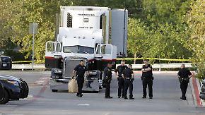 8 Tote in Texas: Polizei findet 38 Menschen in Lkw
