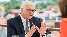 """Hoffnung auf """"Korrekturen"""": Steinmeier """"irritiert"""" über USA unter Trump"""