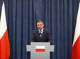 Umstrittene Justizreform: Polens Präsident Duda legt Veto ein