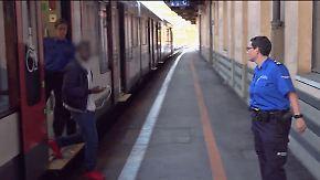 In Zügen aus Italien durch die Schweiz: Grenzwächter fangen Hunderte Flüchtlinge ab