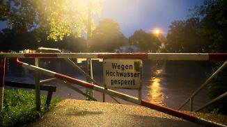 Steigende Pegelstände: Dauerregen bringt Hildesheim in bedrohliche Lage