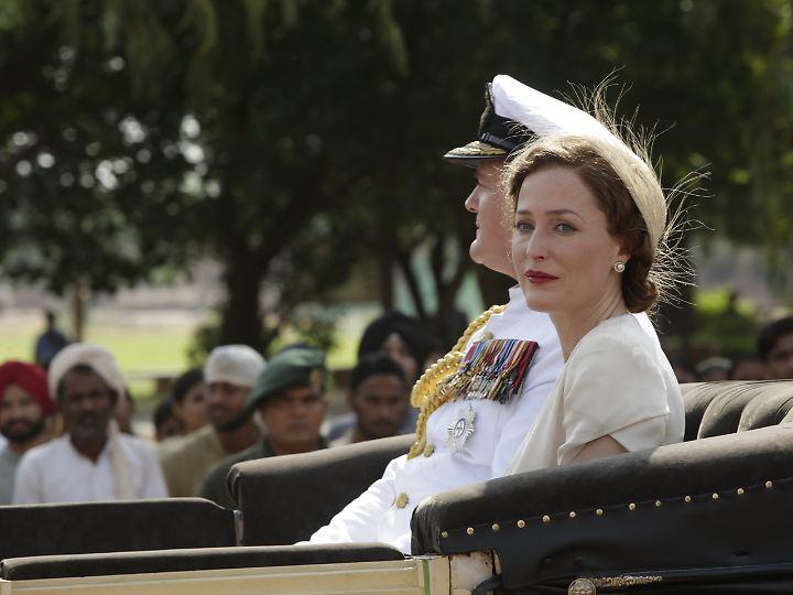 Lady Edwina Mountbatten bringt frischen Wind in den Palast.