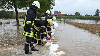 Hochwasser nach Dauerregen: Hildesheimer bangen um durchweichte Deiche