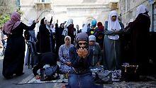 Boykott beendet: Abbas ruft Muslime zum Tempelberg zurück