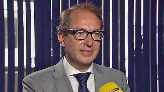 "Verkehrsminister zum Dieselskandal: Dobrindt: ""Fahrverbote sind unglaubwürdig"""