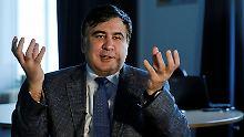 Auch Ukraine entzieht Pass: Ex-Präsident Saakaschwili wird staatenlos
