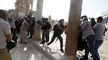 Nach neuer Gewalt: Israel beschränkt Tempelberg-Zugang wieder