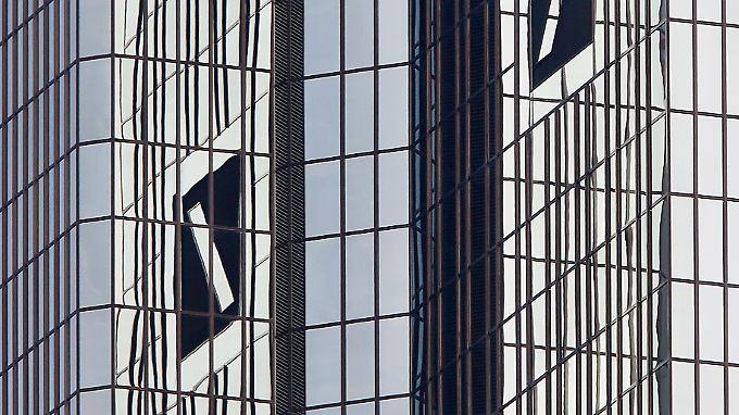 Die Deutsche-Bank-Zentrale in Frankfurt.