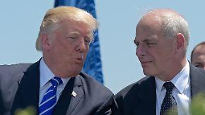 Trump feuert Priebus: Ex-General Kelly wird neuer Stabschef im Weißen Haus
