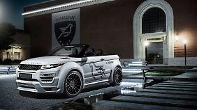 Range Rover Evoque Cabrio von Hamann.
