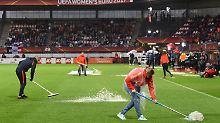 Viertelfinalspiel abgesagt: Sintflut bremst DFB-Frauen bei der EM aus