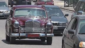 Über eine Million gefahrene Kilometer: Mercedes Ponton 190 ist Taxi-Attraktion auf Beiruts Straßen