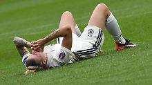Sintflut, Traumstart, Debakel: DFB-Frauen scheitern im EM-Viertelfinale