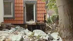 Komplettes Haus unterspült: Hochwasser hinterlässt enorme Schäden