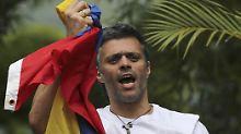 Venezuela-Krise spitzt sich zu: Polizei führt zwei Oppositionsführer ab