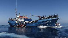 Deutsche Retter festgesetzt: Gutachten kritisiert Mittelmeer-Kodex