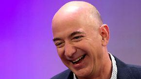 """Nach einer superreichen Nacht: Jeff Bezos auf """"Forbes""""-Liste nur noch Dritter"""