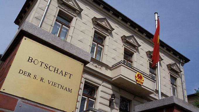 Der vietnamesische Botschafter in Berlin musste sich vorm Auswärtigen Amt wegen der angeblichen Entführung verantworten.