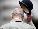 Letzte Parade abgenommen: Prinz Philip ist jetzt Rentner