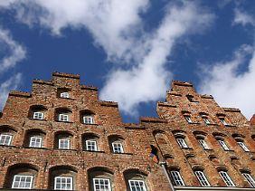 Stadt mit großer Geschichte: Hunderte denkmalgeschützte Häuser gibt es in Lübeck.