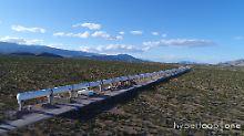 Kapsel über 300 km/h schnell: Hyperloop knackt eigenen Speed-Rekord