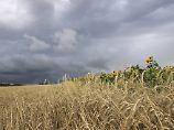 Wechsel-Sommer hält vorerst an: Am Wochenende drohen neue Gewitter
