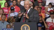 """""""Big Jim als Republikaner zu haben ist eine echte Ehre"""", sagt US-Präsident Trump."""