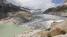 Forscher geben Hoffnung auf: Schweizer Gletscher nicht mehr zu retten